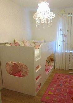 mommo design: #IKEA HACKS - Kura bed by katharine