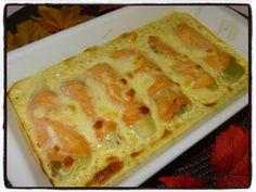 Roulés poireau saumon Temps de préparation : 20 minutesTemps de cuisson : 20 minutes + 25 minutesRecette pour 4 personnes Ingrédients : * 4 blancs de poireau * 4 tranches de saumon fumé * 100g de crème fraîche * 1 œuf * sel, poivre * 50g de mozzarella... 20 Minutes, Foie Gras, Mozzarella, Lasagna, Quiche, Entrees, Macaroni And Cheese, Bacon, Food And Drink