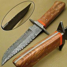 Custom Hand Made Damascus skinning knives lot 6 Custom Bowie Knives, Custom Knives, Tactical Pocket Knife, Tactical Knives, Edc Tactical, Swiss Army Pocket Knife, Knife Stand, Engraved Pocket Knives, Cool Knives