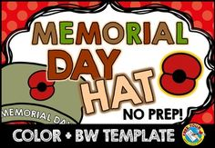 #MEMORIAL #DAY #CRAFTS : MEMORIAL DAY #HAT #CRAFTIVITY