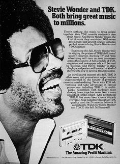 TDK Cassette Tape advert 1979