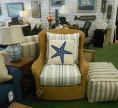 Furniture for every room of your Nantucket home. Marine Home Center 134 Orange Street Nantucket