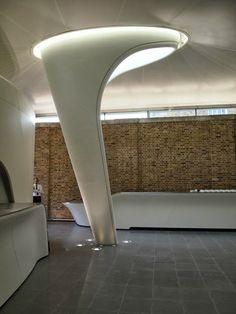 zaha hadid built in furniture Zaha Hadid Architektur, Arquitectos Zaha Hadid, Zaha Hadid Design, Parametric Architecture, Interior Architecture, Built In Furniture, Furniture Design, Zaha Hadid Interior, Interior Design Instagram