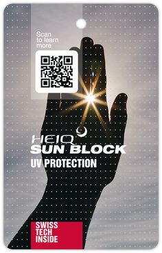 HeiQ Sun Block – UV Protection Coding, Sun, Learning, Movie Posters, Studying, Film Poster, Teaching, Billboard, Film Posters