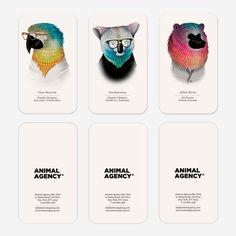 Animal Agency #namecards