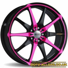 Love the pink and black!