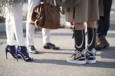 Pin for Later: Everyone Saved the Best Accessories For Last at MFW MFW Day Four Nike sneakers