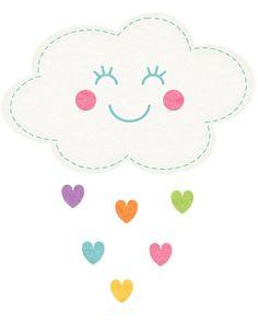 resultado de imagem para desenhos de nuvens para colorir e imprimir
