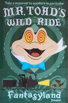 Vintage Disneyland Attraction