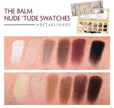NUDE 'tude Eyeshadow Palette by theBalm #11