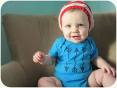 Infant+Boy+Girl+One+Piece+Native+Arrows+Tribal+by+HudsonAndRuthie,+$19.00