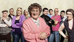 Mrs Browns Boys.  Completely silly and extremely funny.  Fun escapism.