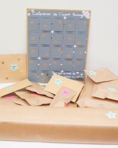 Calendrier de l'avant mariage. Cadeau temoin pour future mariée Our Wedding Day, Dream Wedding, Wedding Planer, Diy Projects To Try, Happy Day, Save The Date, Event Planning, Bridal Shower, Wedding Inspiration