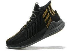 72b2c15ee1ca adidas D Rose 9 Black Gold Espadrilles