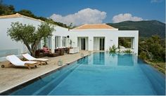 Glamorous villa in the Ionian islands with dreamy views over the ocean