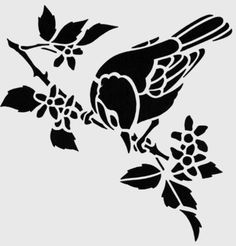 flowers birds rose hibiscus paisley leaves mylar stencil design craft home decor painting diy wall art 190 micron Bird Stencil, Wall Stencil Patterns, Stencil Art, Stencil Designs, Types Of Painting, Diy Painting, Adhesive Stencils, Bird Silhouette, Home Decor Paintings