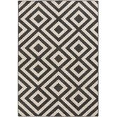 "7'6""x10'9"" $330 Found it at DwellStudio - Evans Trellis Smoke Outdoor Rug"