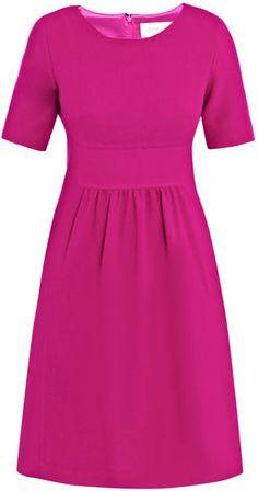 Goat Kendal Wool-crepe Dress