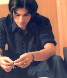 "Takeshi Kaneshiro, because it's a day ending in ""y"""