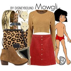 Mowgli by leslieakay on Polyvore featuring polyvore, fashion, style, Monki, Jessica Simpson, Marc by Marc Jacobs, Gypsy SOULE, House of Harlow 1960, Ginette NY and disney