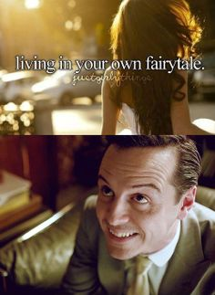 Just Sherly Things- Fairytale Credit: Kelsey Minton | this one is shamelessly brilliant, he's even smirking at the caption!