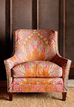 Great Chair with Wonderful Fabric