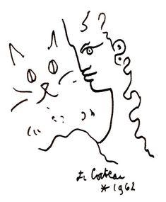 Encore un dessin de Cocteau.                              …