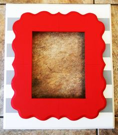 Stacked 8x10 Unique Picture Frame by HallWallFrames on Etsy