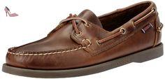 Sebago Docksides Chaussures Bateau Homme, Marron (Brown Oiled Waxy Lea), 45 EU - Chaussures sebago (*Partner-Link)