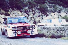 1978 Tour De Corse - Fiat 131 Abarth (5th)