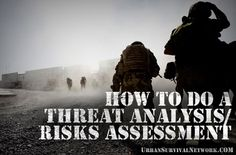 How to do a Threat Analysis/Risks Assessment | Urban Survival Network