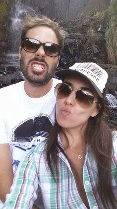Costa da Lagoa - Cachoeira - Evandro e eu