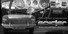 Opel Kadett A Spider by Pietro Frua with Interieur