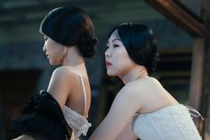 Kim Tae-ri and Kim Min-hee in The Handmaiden, 2016, directed by Park Chan-wook. Courtesy: Amazon Studios / Magnolia Pictures