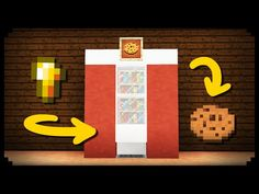 ✔ Minecraft: How to make a Working Vending Machine - YouTube