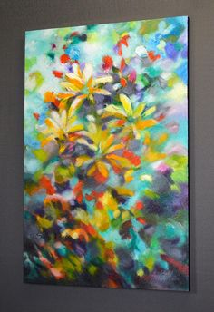 Pintura abstracta pintura original pintura acrílica