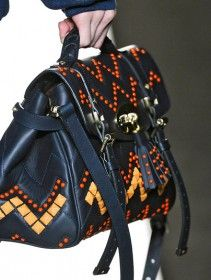 I want more pictures of this bag! Mulberry FW 2012