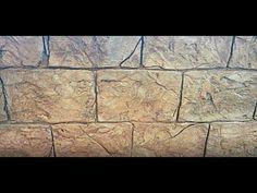 Греческий ДЕКОРАТИВНЫЙ камень из ПЛИТОЧНОГО клея - YouTube