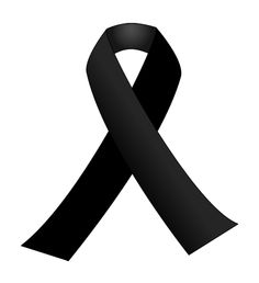 Black Ribbon for Paris. A black ribbon is a symbol of remembrance or mourning. Wearing or displaying a black ribbon has been used for remembrance, mourning tragedies or as a political statement. Crab Tattoo, Ribbon Png, Der Tot, In Memory Of Dad, Nail Decals, Condolences, Awareness Ribbons, Black Ribbon, Ribbon Colors