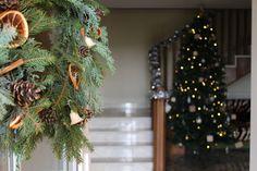 How to Make A Winter Wreath / Coronita Decorativa de Craciun/ Decor