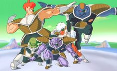 ginyu force - Google Search
