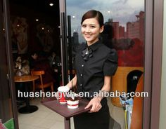 waiter uniform/restaurant uniform manufacturers $1~$5