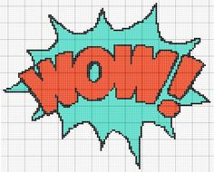 WOW comic sound effect pattern by RawrrThePeowPeow on deviantART