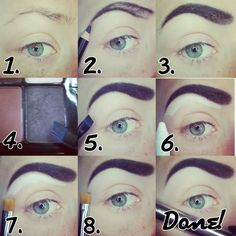 This quick pictorial shows you the step-by-step guide in achieving eyebrows that are perfect for pin-up looks. Read the how-to here.