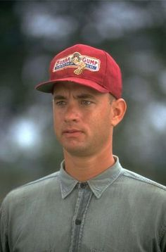 Tom Hanks as Forrest Gump in Forrest Gump, 1994