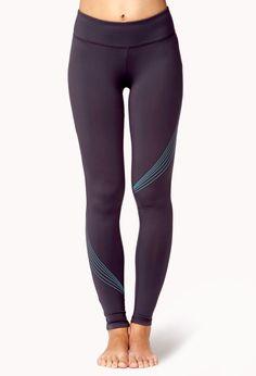 Reflective Skinny Workout Leggings | FOREVER21