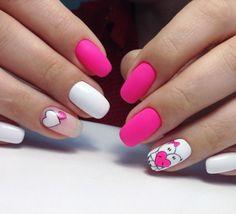 Cute Matte Nail Art Designs Ideas
