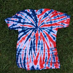 24a40f66 Adult Medium Red White and Blue Tie Dye shirt, Patriotic Tie Dye, 4th of  July Shirt, Fireworks Shirt, Spider Tie Dye, Spiderman Tie Dye