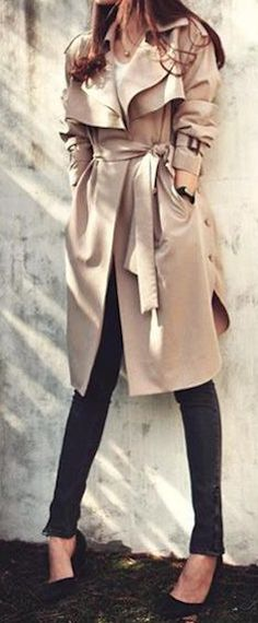 belted khaki trench coat  http://rstyle.me/n/nkpkipdpe