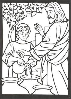 miracles of jesus Coloring Book - Pesquisa Google